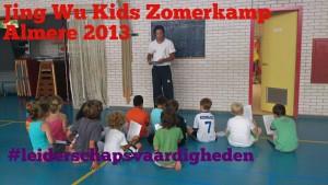 zelfverdediging zomerkamp Almere 2015
