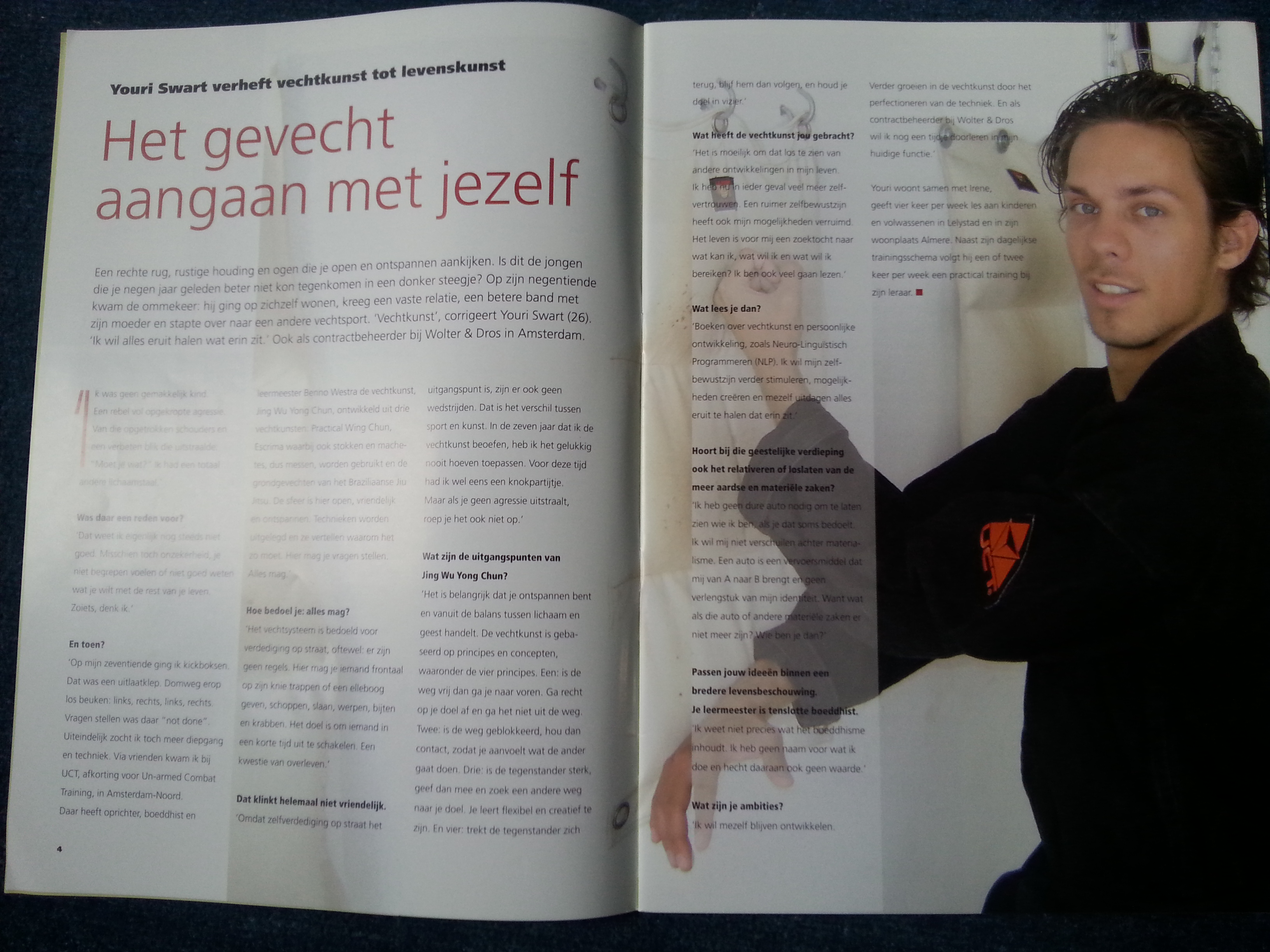 Youri Swart - Interview in de OET (December 2010)