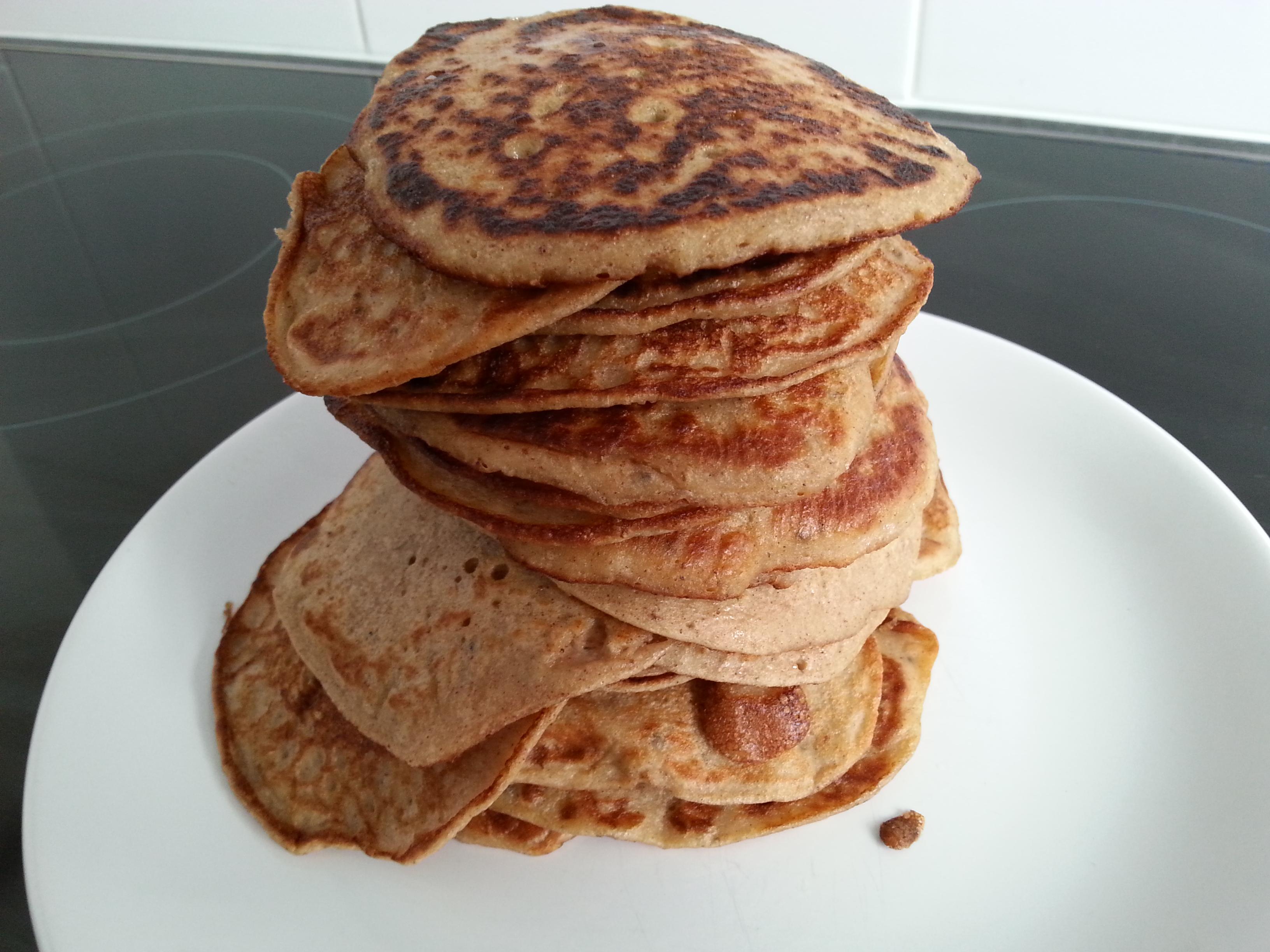 Banaan Ei Pannenkoek voor ontbijt
