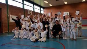 Jing Wu Kids examen in Lelystad