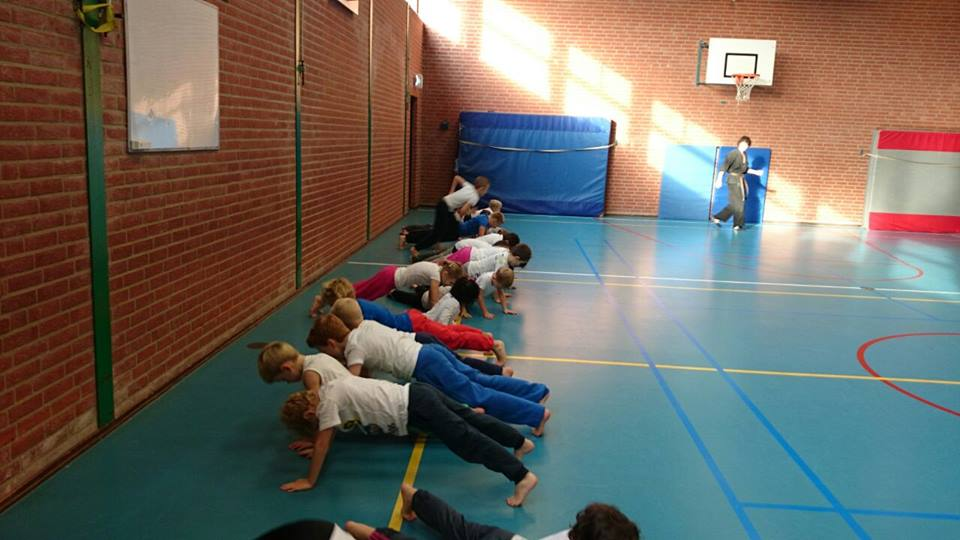 Jing Wu Kids Lelystad workshop 2