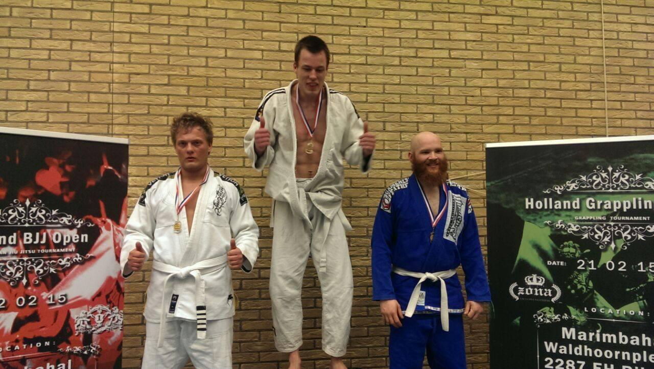 Braziliaans Jiu Jitsu (BJJ) Lelystad: Jamie Sanders Wint Zilver op Holland Gi Challange 2015 in Rijswijk!