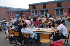 Barbecue opening kungfu academy almere