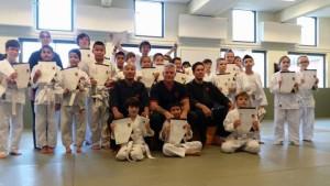 examen bjj karate kungfu almere