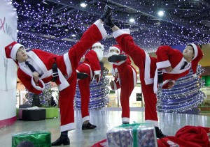 kungfu almere en lelystad kerstmis 2015