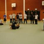 zelfverdediging op de grond budo workshop