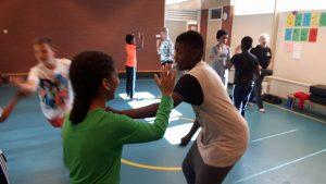 weerbaarheid op school in Almere haven