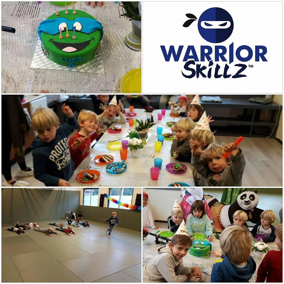 Warrior Skillz Ninja Turtle Verjaardagsfeestje