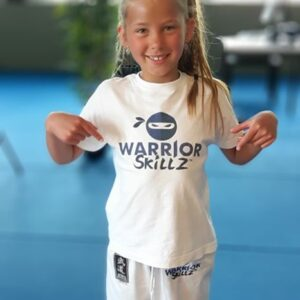 T-Shirt Warrior Skillz (kinderen)